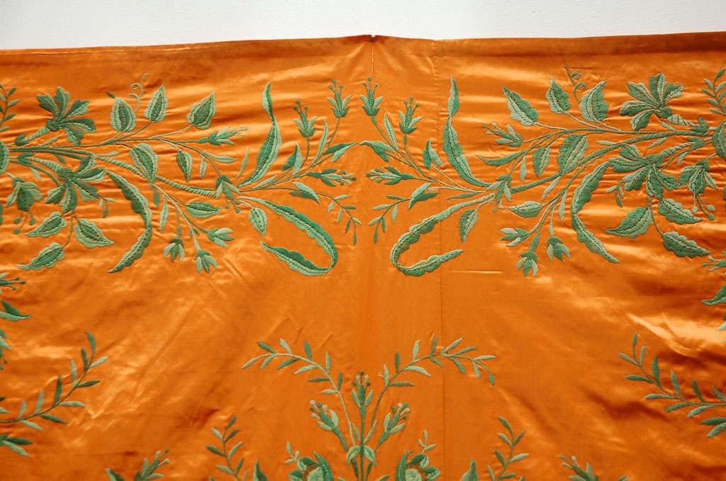 Antique Ottoman Empire Silk Textile Hanging Throw At 1stdibs