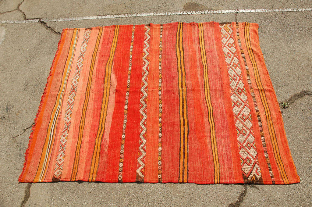 Moroccan Tribal Atlas Vintage Carpet 2