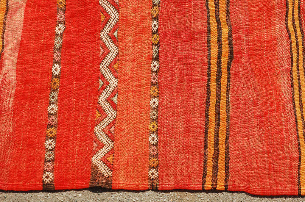 Moroccan Tribal Atlas Vintage Carpet 3