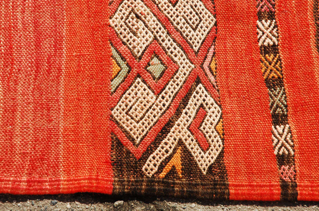 Moroccan Tribal Atlas Vintage Carpet 5