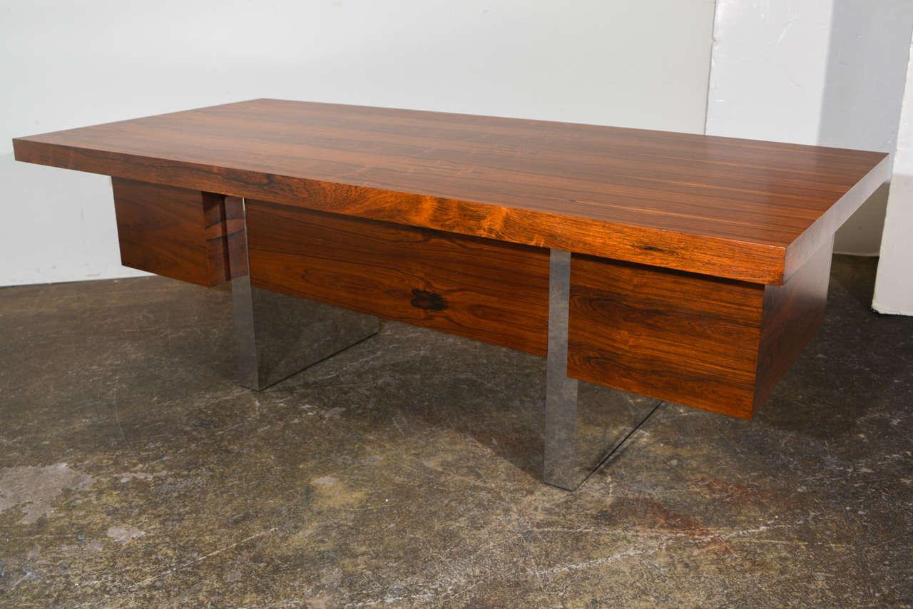 Executive Desk By Roger Sprunger For Dunbar At 1stdibs