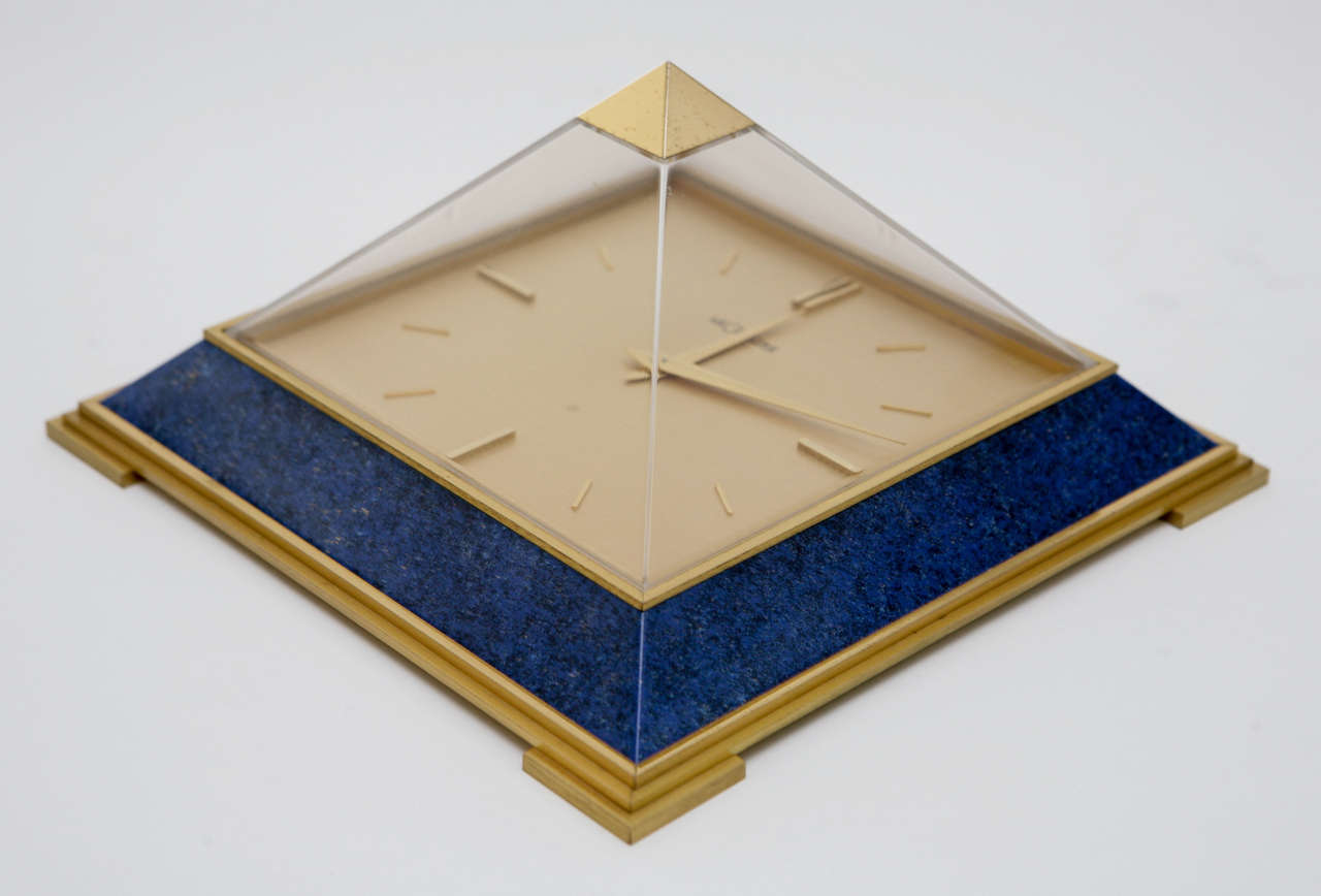 Pyramid Clock by Le Coultre image 2