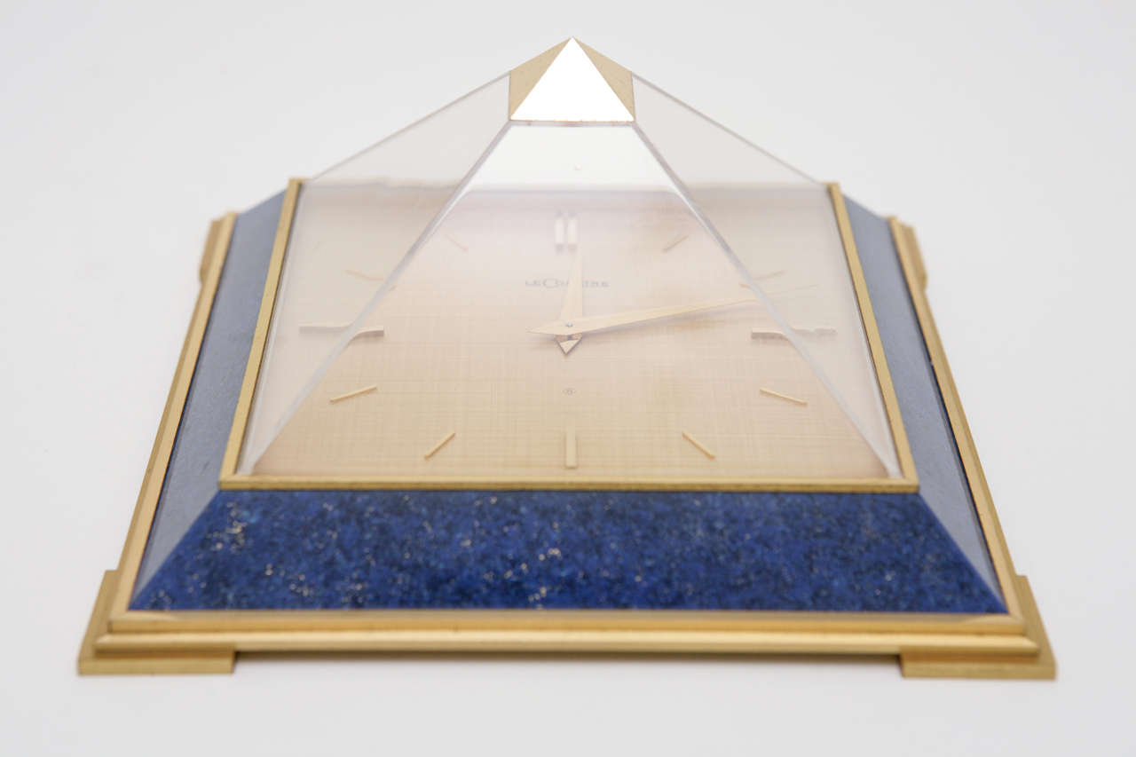 Pyramid Clock by Le Coultre image 3