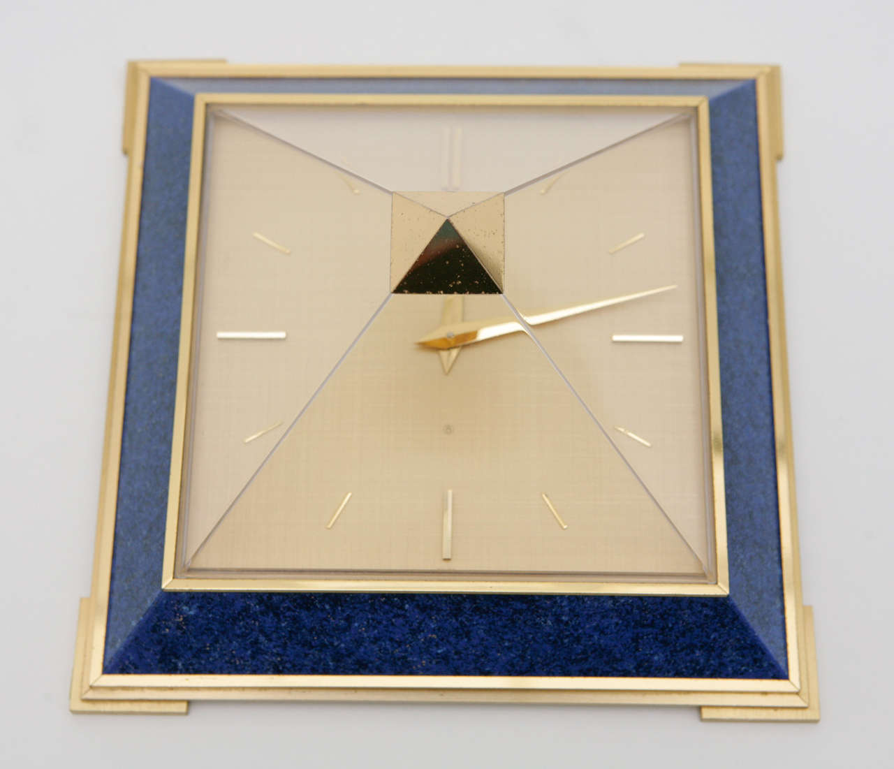 Pyramid Clock by Le Coultre image 5