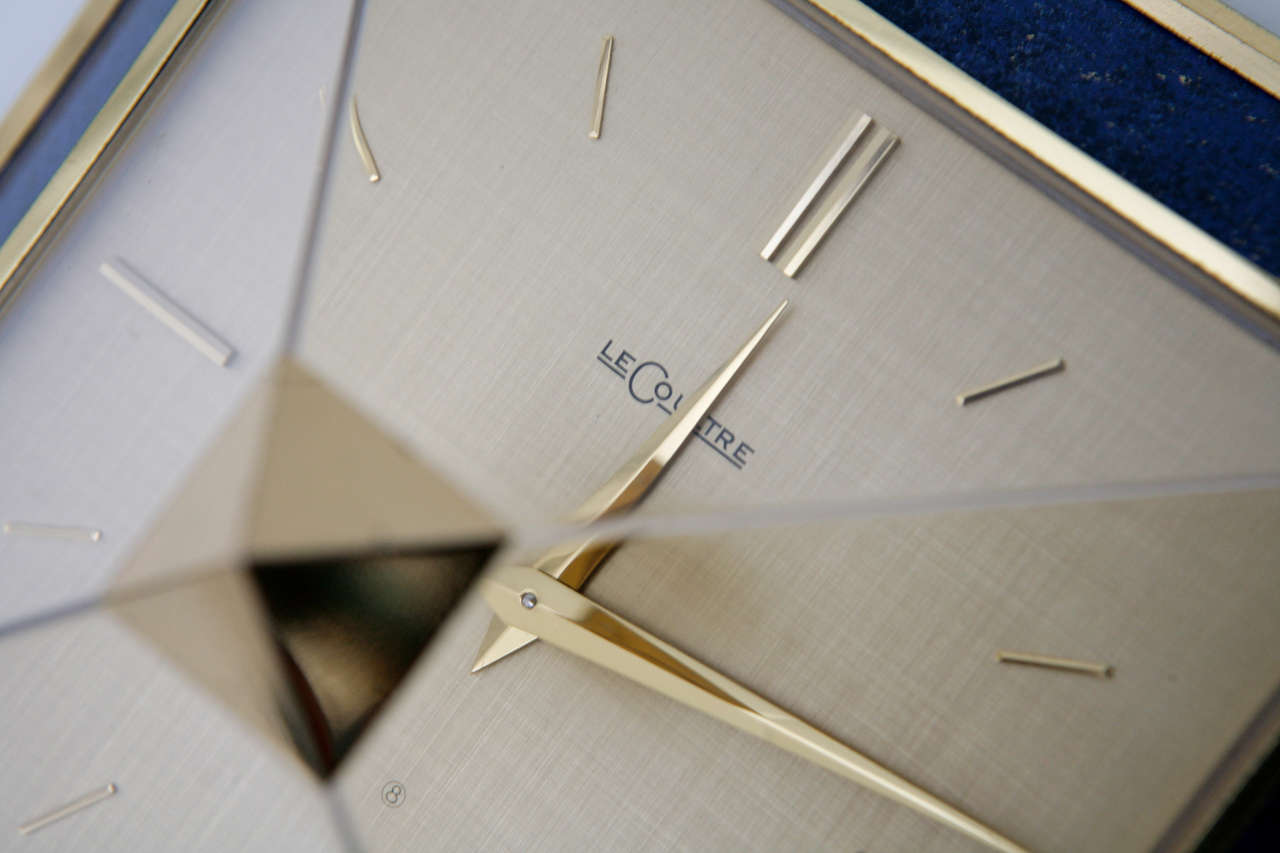 Pyramid Clock by Le Coultre image 7