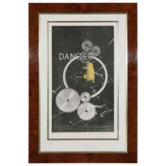"""""""Dancer-danger"""" Color Lithograph by Man Ray"""