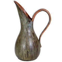 Large Handled, Large Spout Vase