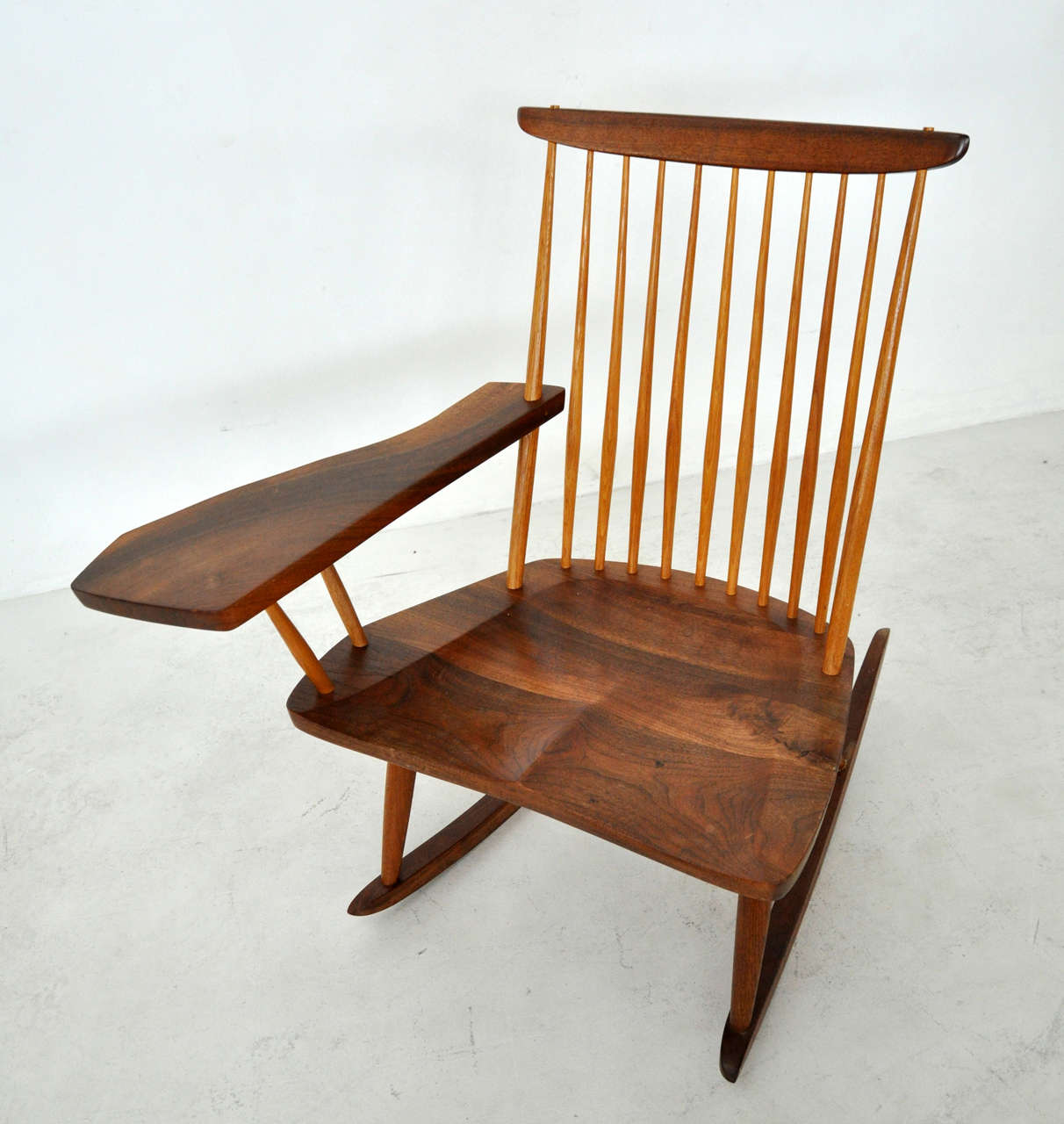 George Nakashima Chairs george nakashima rocking chair for sale at 1stdibs
