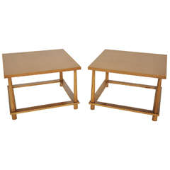 T.H. Robsjohn-Gibbings Lamp Tables