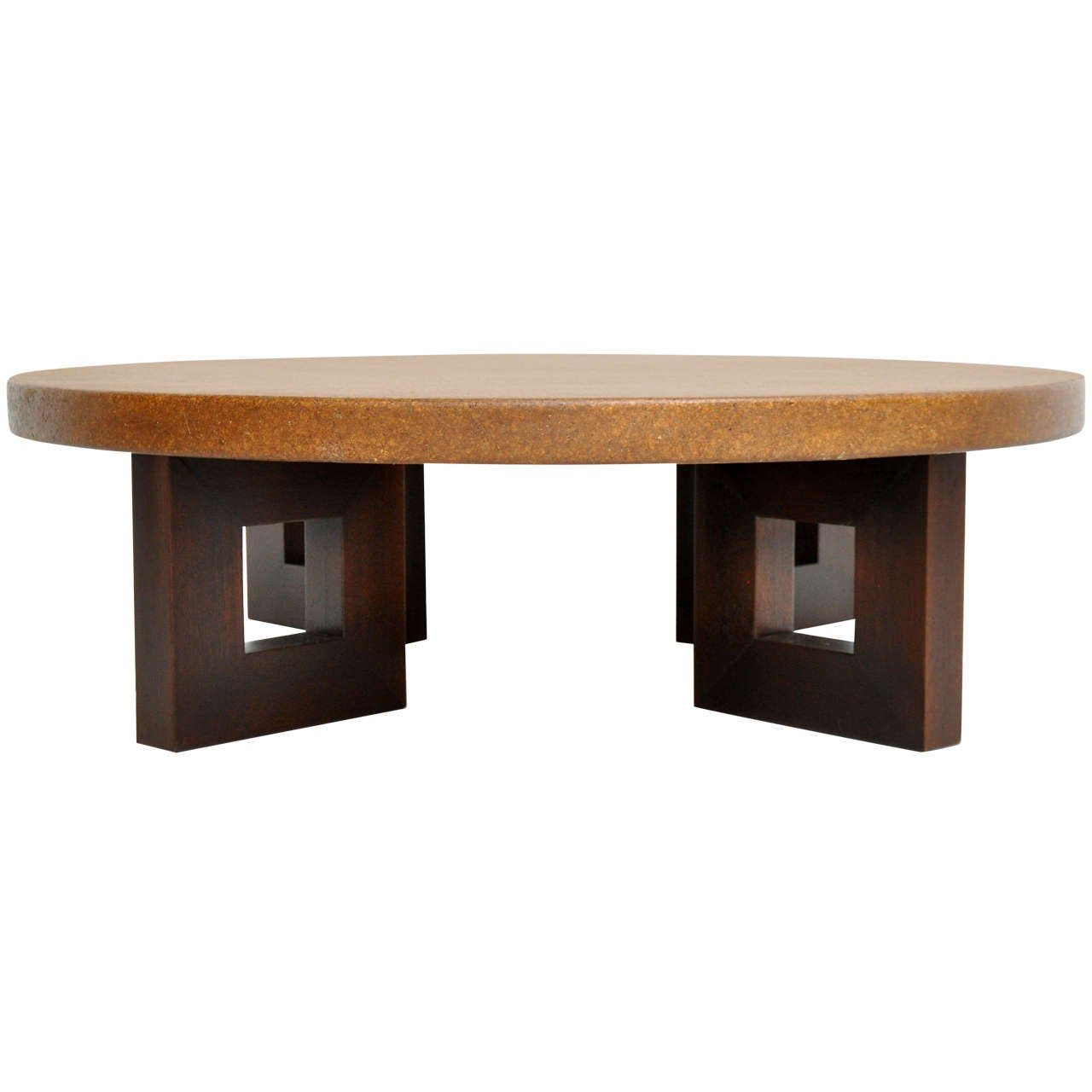 Cork top coffee table paul frankl at 1stdibs cork top coffee table paul frankl 1 geotapseo Gallery