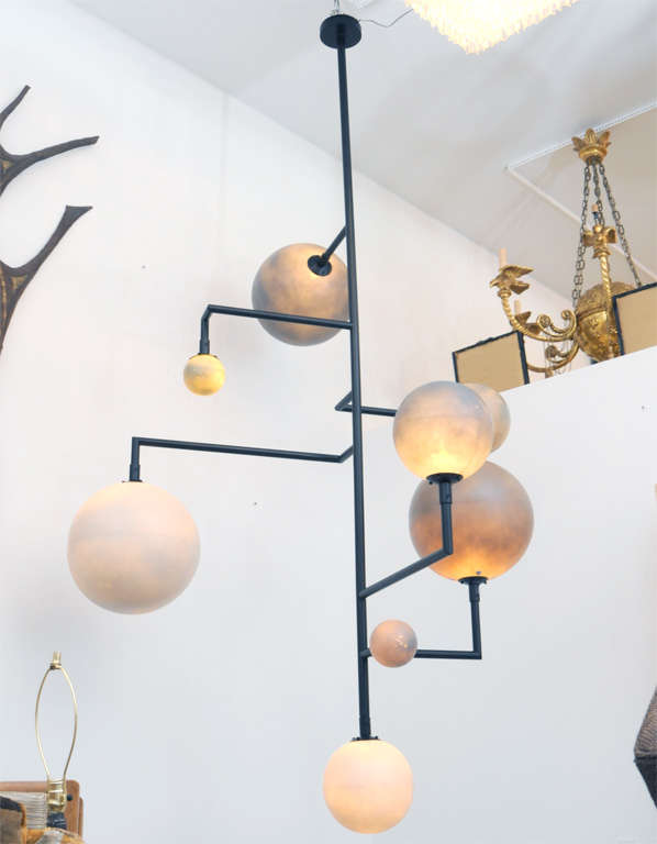 Gigantic Italian Atomic Light Fixture For Sale At 1stdibs