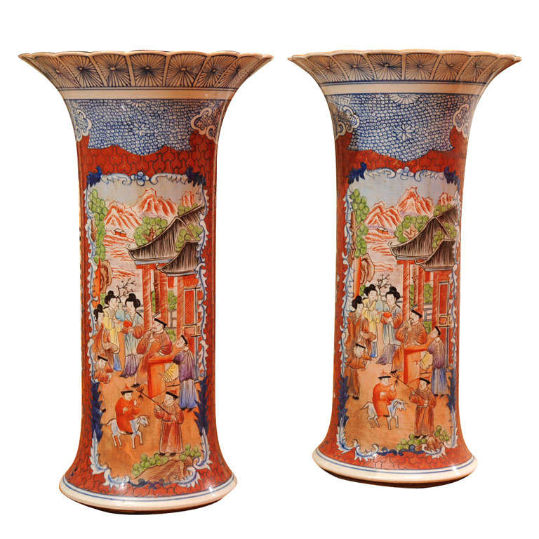 A Pair Of Vases At 1stdibs