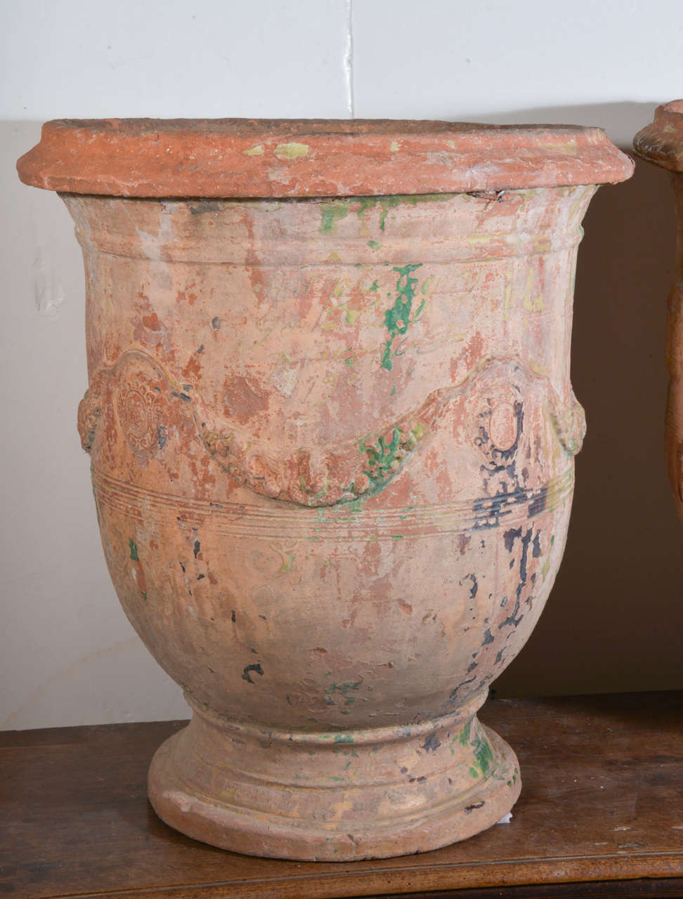 Late 18th Century Pair of Large 18th Century Anduze Jars For Sale