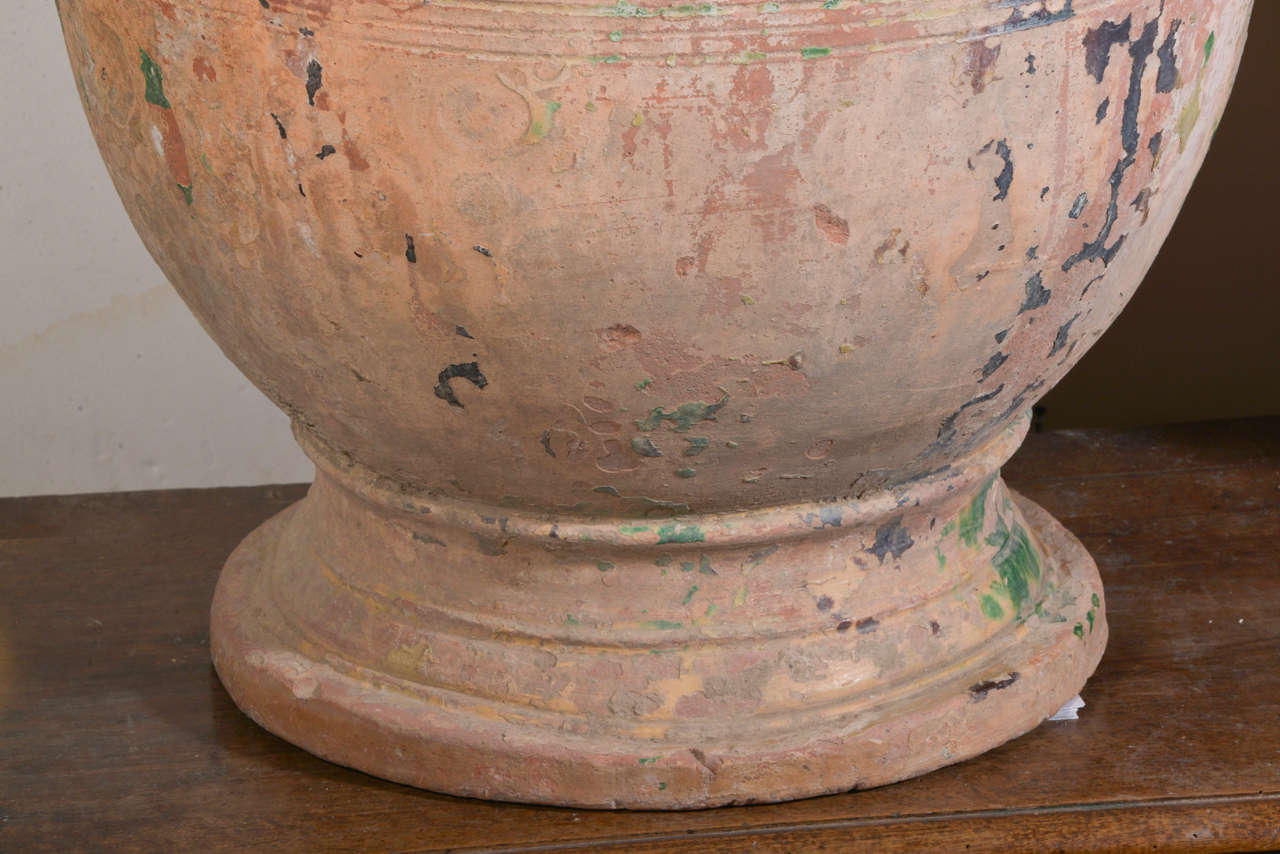Pair of Large 18th Century Anduze Jars For Sale 1
