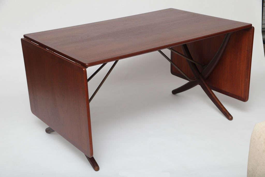 Hans Wegner Folding Dining Table at 1stdibs : b from www.1stdibs.com size 1024 x 683 jpeg 34kB