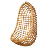 Vintage Bamboo Hanging Chair