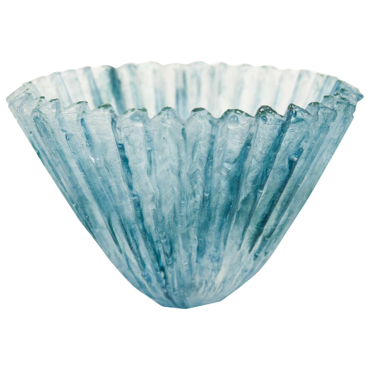 tessa clegg pate de verre vase for sale at 1stdibs. Black Bedroom Furniture Sets. Home Design Ideas