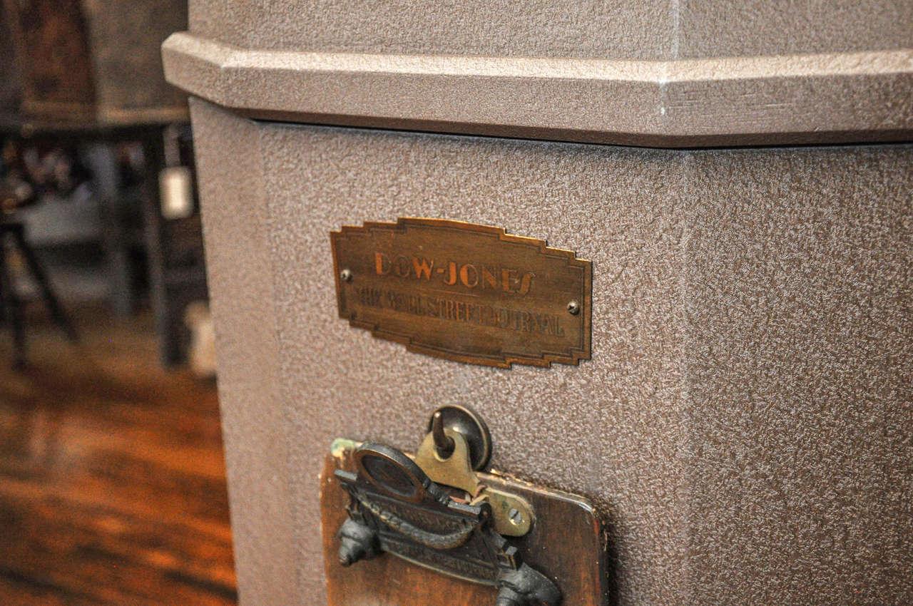Dow Jones Stock Ticker Tape Machine For Sale 4