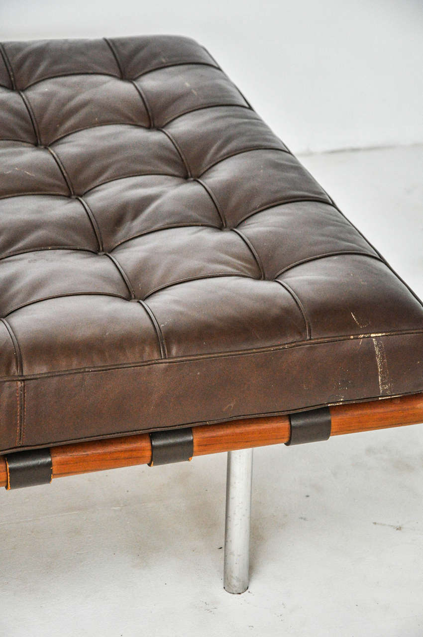Barcelona Daybed Mies Van Der Rohe For Knoll Circa 1970s At 1stdibs