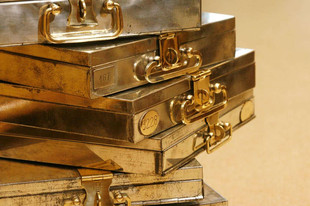 1920 S Swiss Bank Safety Deposit Box At 1stdibs
