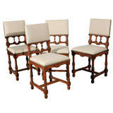 Set of 12 Dining Side Chairs