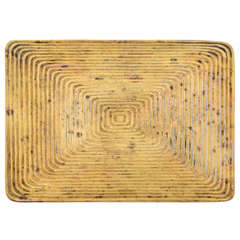 Ben Seibel For Jenfredware Ribbed Brass Trivet