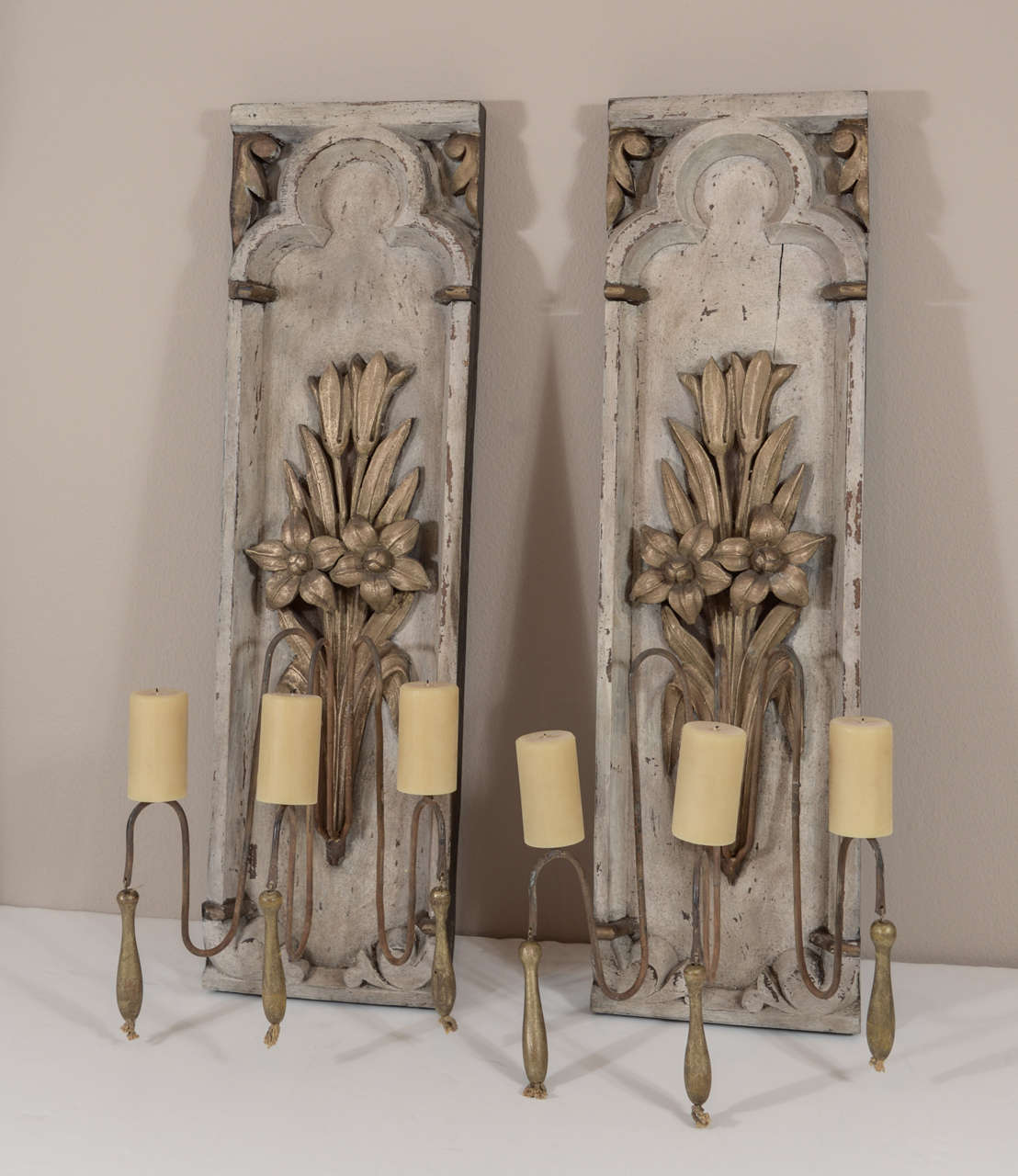 19th Century French Candle Sconces at 1stdibs