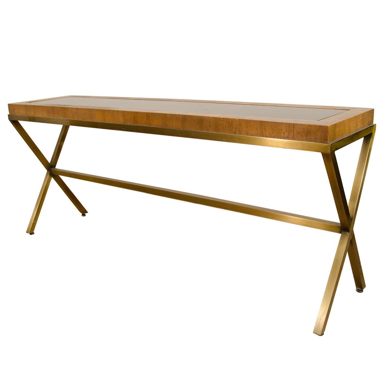 Mastercraft Furniture For Sale #24: Great Mastercraft X-Base Console Table