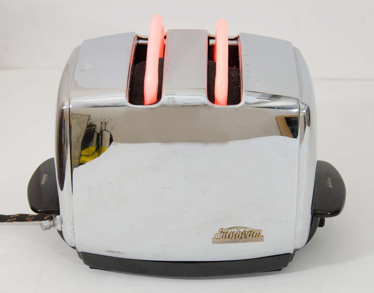 Vintage Sunbeam Toaster Neon Light Sculpture At 1stdibs