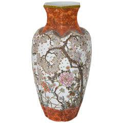 A Meiji Period Japanese Masterpiece Porcelain Vase