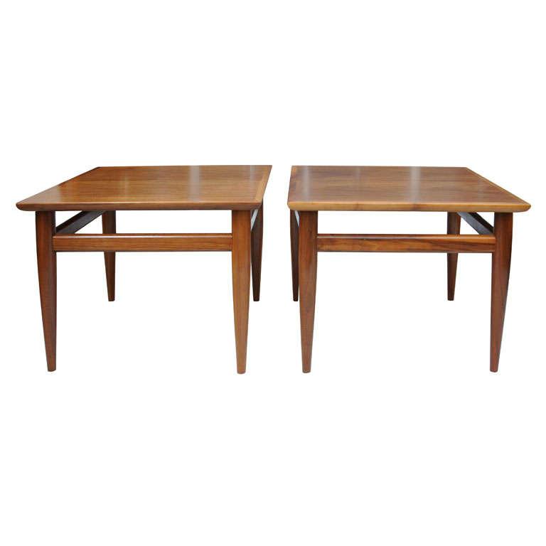 Heritage Danish Modern Side Tables
