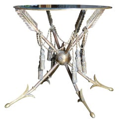 Bronze Neoclassical Campaign Table