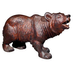 Black Forest Carving of Bear