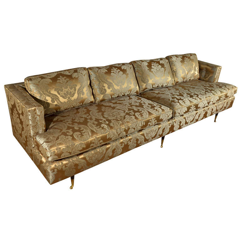 1950 39 S Style Salon Sofa At 1stdibs