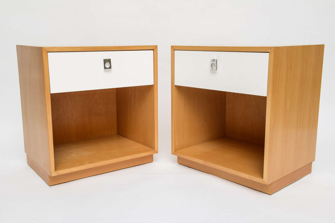 Jack Cartwright 60s Modern Nightstands For Founders Furniture 2