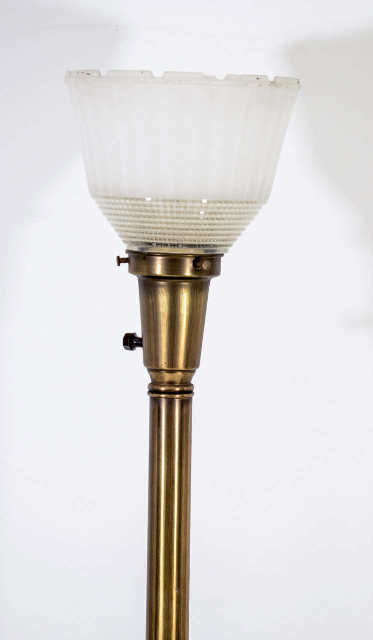 Hollywood Regency Style Lamp By Rembrandt Company At