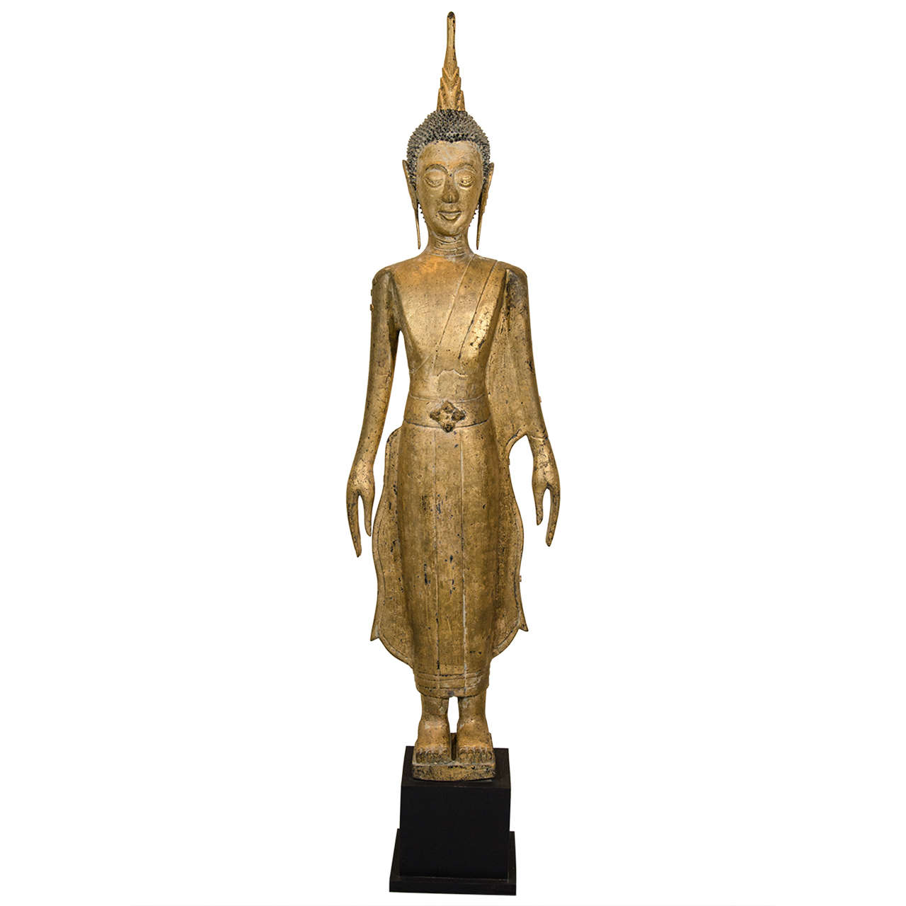 19th Century Laotian Buddha For Sale