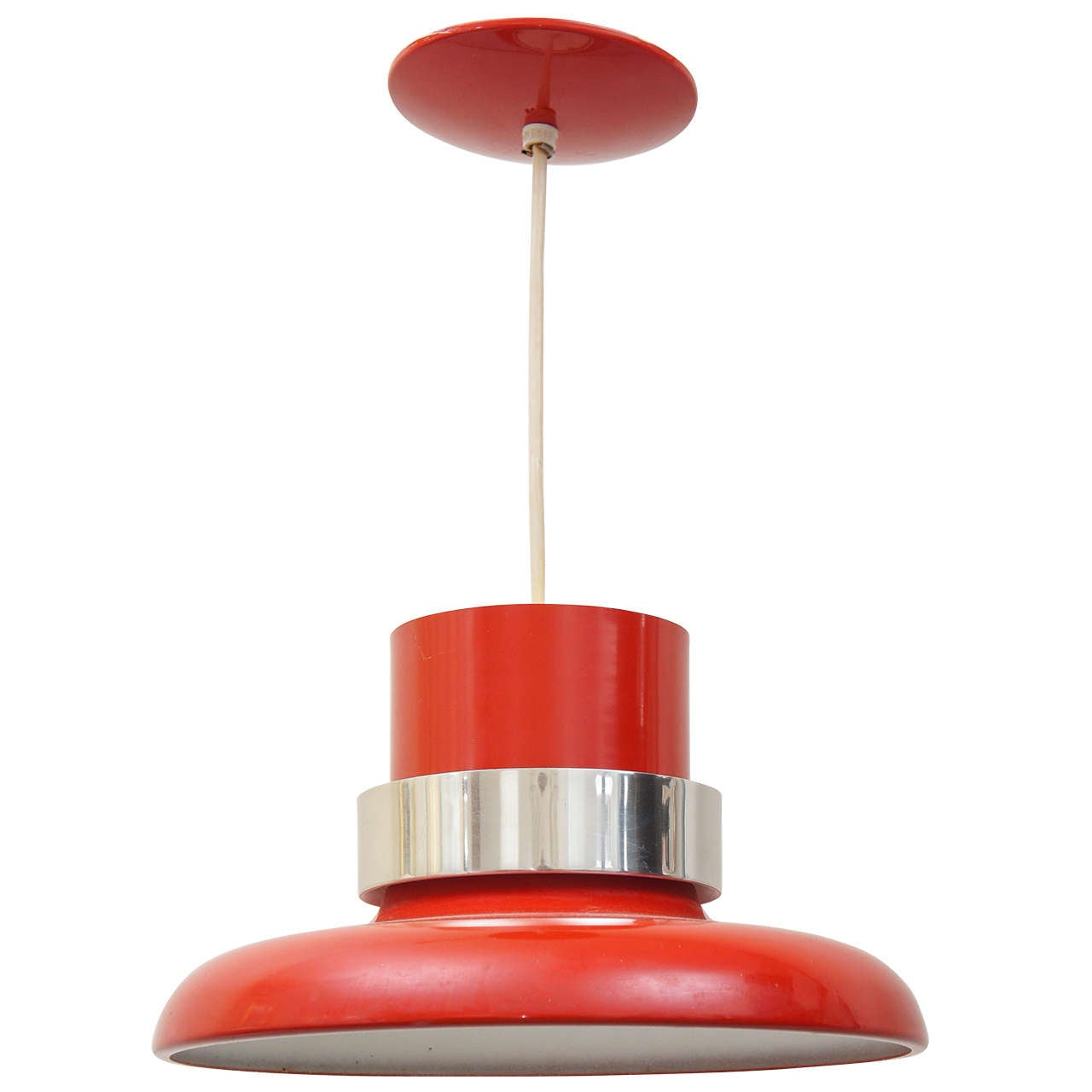 Lightolier Ring Chandelier At 1stdibs: Vintage Lightolier Pendant Light At 1stdibs