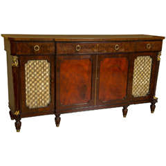 Schmieg and Kotzian Bronze-Mounted Sideboard