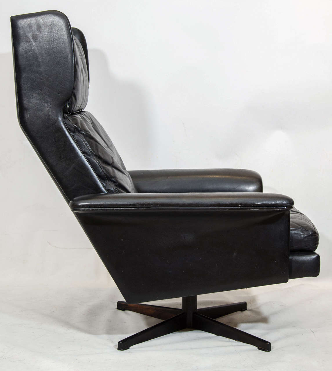 this danish wing back swivel lounge chair is no longer available