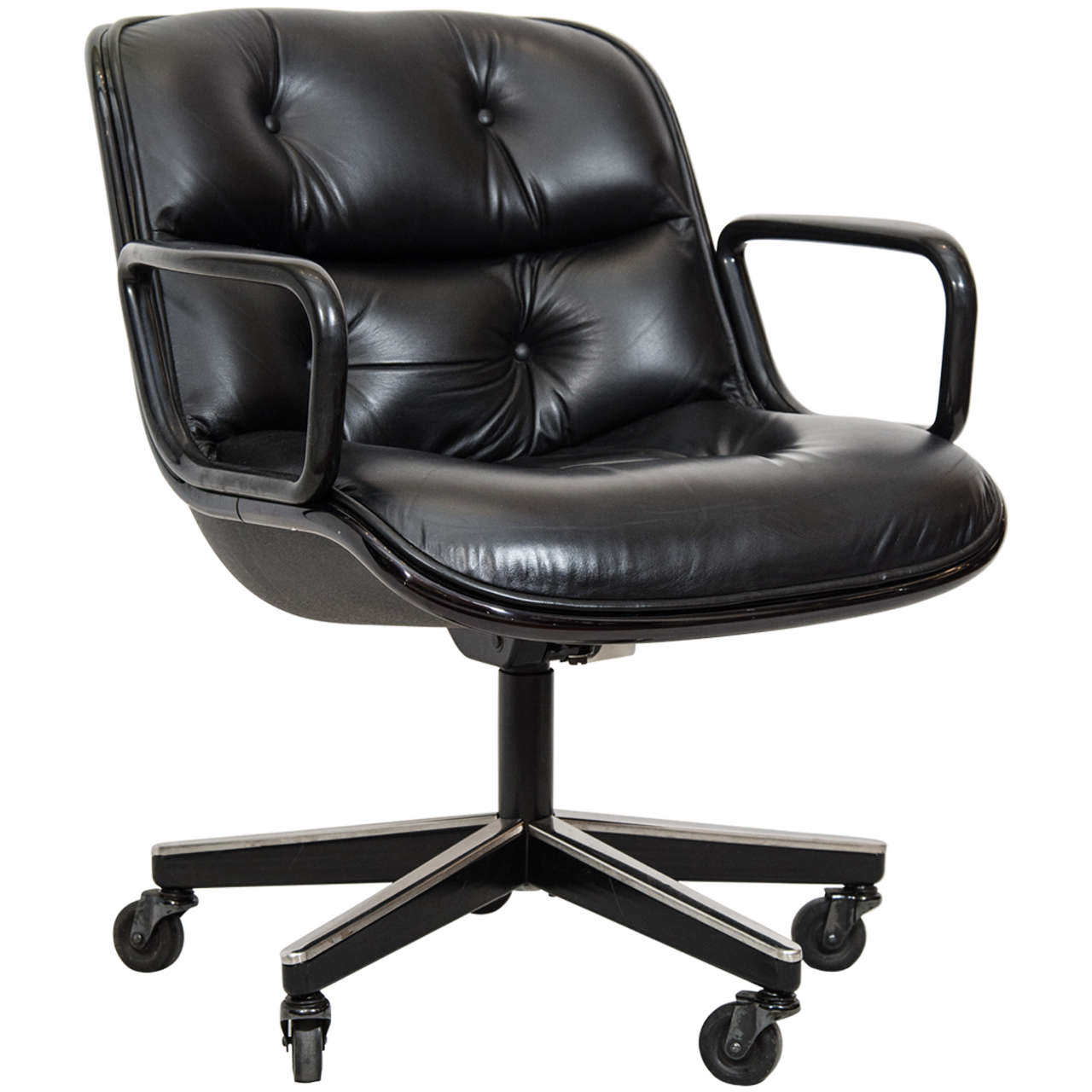 Merveilleux Charles Pollock Executive Desk Chair For Knoll For Sale