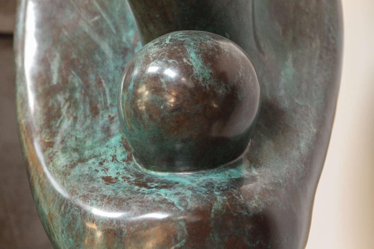 life size bronze sculpture by sy rosenwasser at 1stdibs. Black Bedroom Furniture Sets. Home Design Ideas