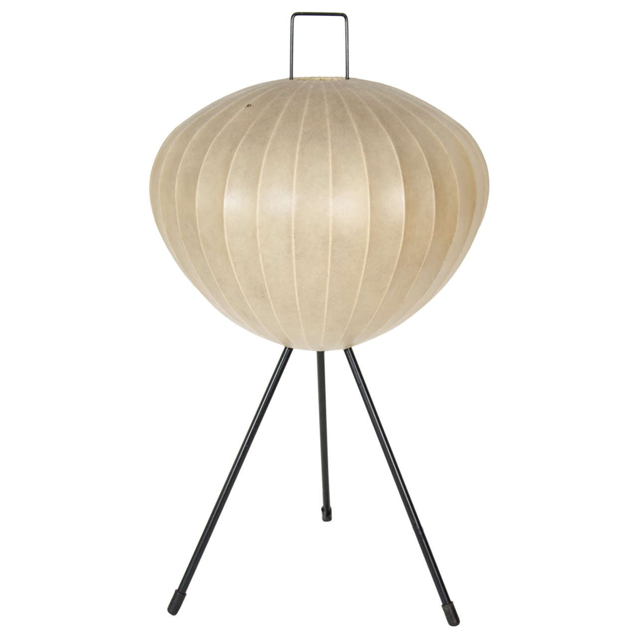 1950s tripod bubble floor lamp on tripod base for sale at 1stdibs. Black Bedroom Furniture Sets. Home Design Ideas