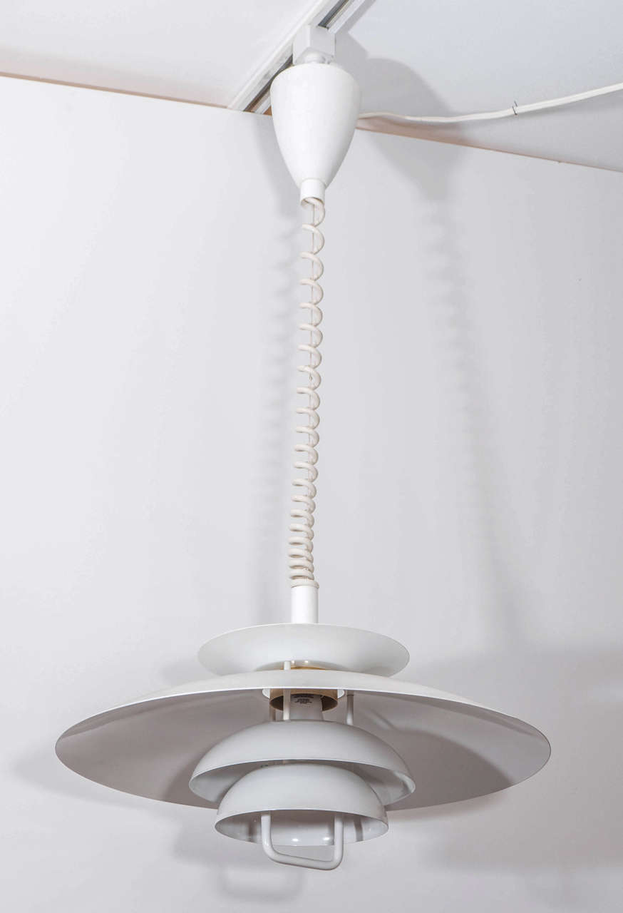 danish modern light fixture at 1stdibs