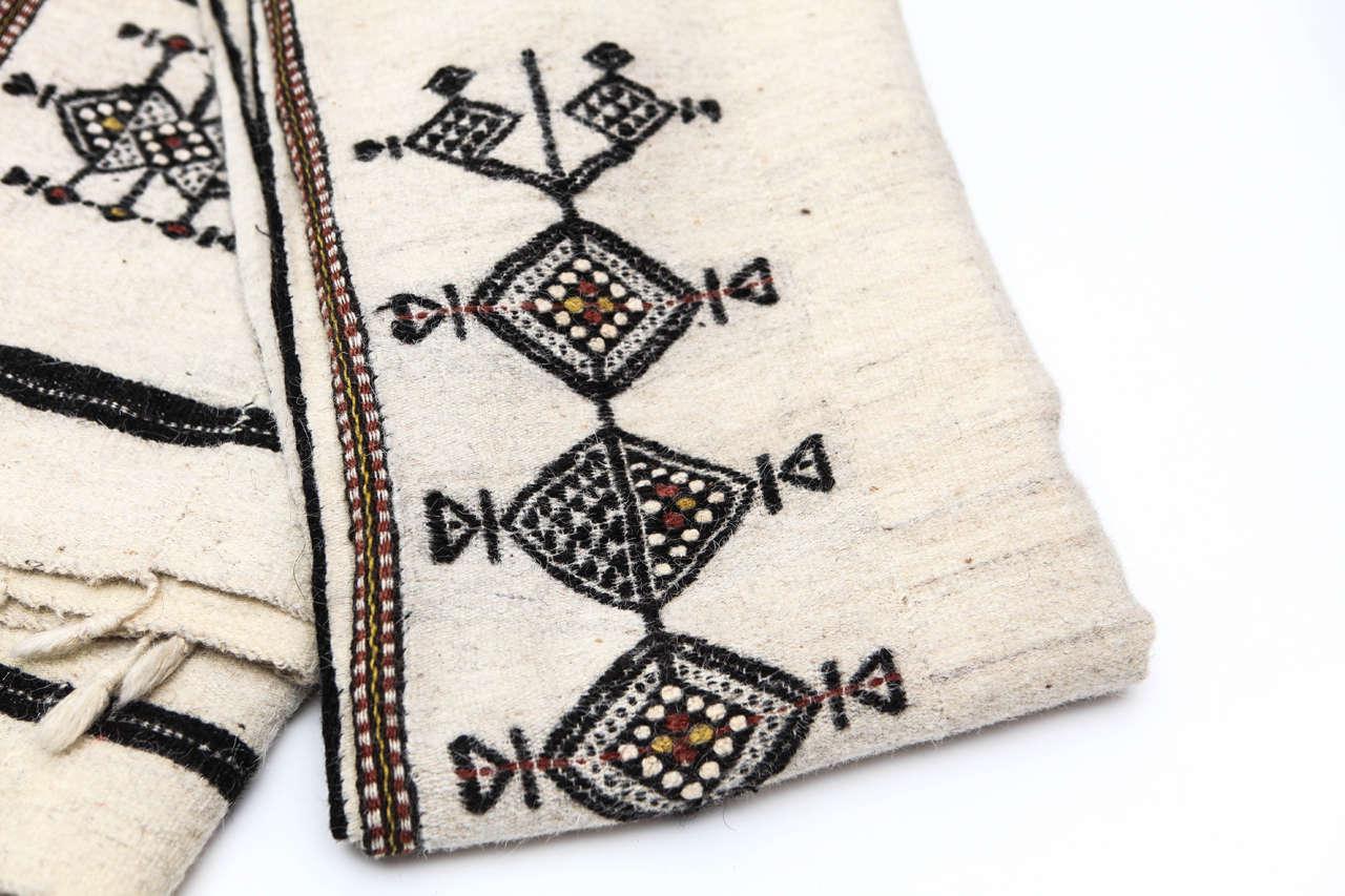 Nigerian Vintage West African Fulani Wedding Blanket For Sale