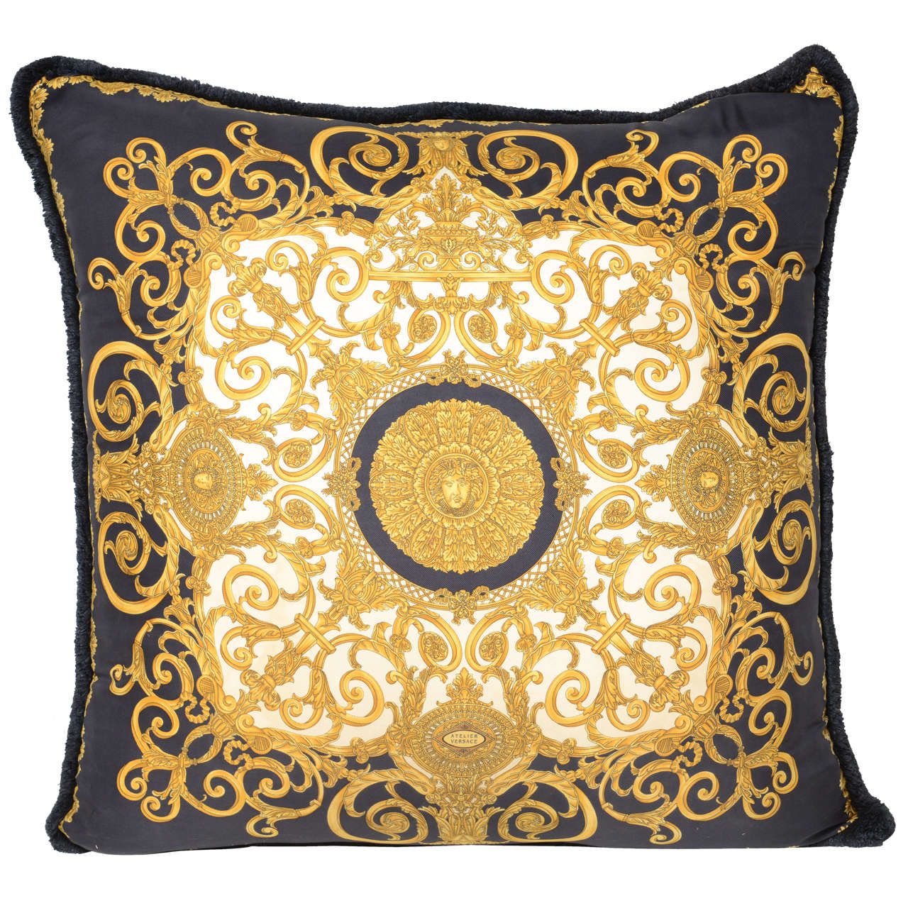 Oversized Atelier Versace Pillow (double sided) at 1stdibs