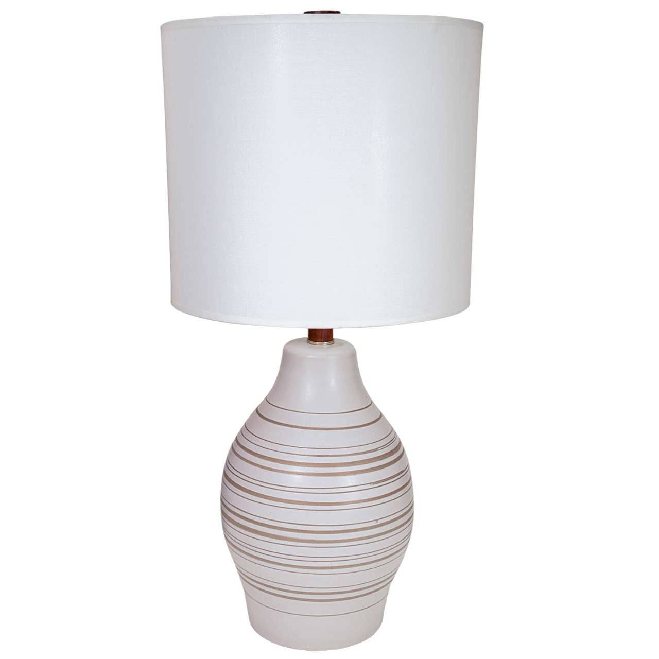 Gordon Martz Horizontal Striped Lamp