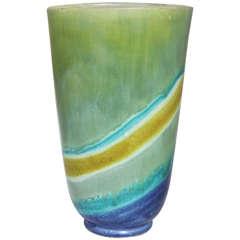 Raymor Dip-Dyed Vase