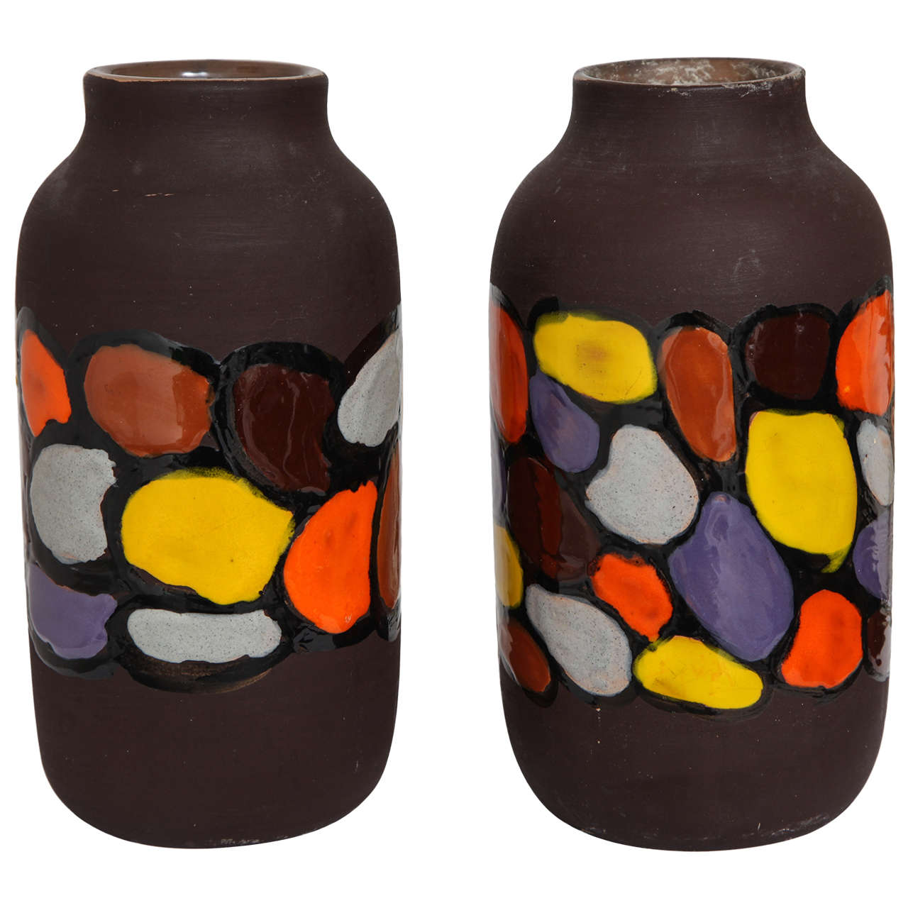 Pair of Bitossi Vases
