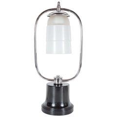 Art Deco Machine Age Table Lamp in the Manner of Walter Von Nessen